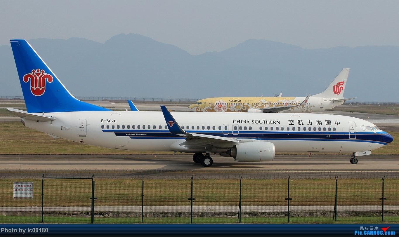 Re:[原创]『lc06180』CKG - 进跑道02L等待 BOEING 737-800 B-5678 中国重庆江北机场