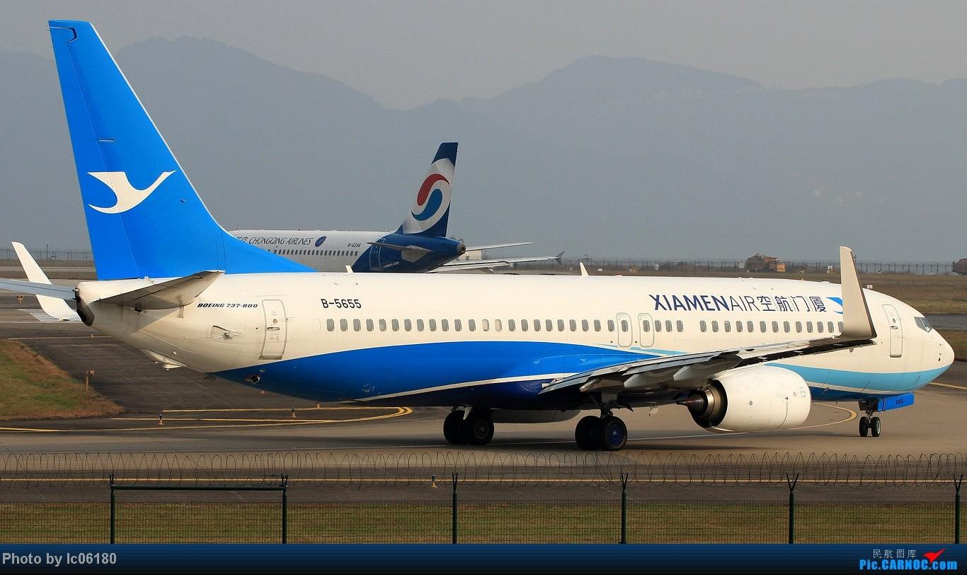 Re:[原创]『lc06180』CKG - 进跑道02L等待 BOEING 737-800 B-5655 中国重庆江北机场