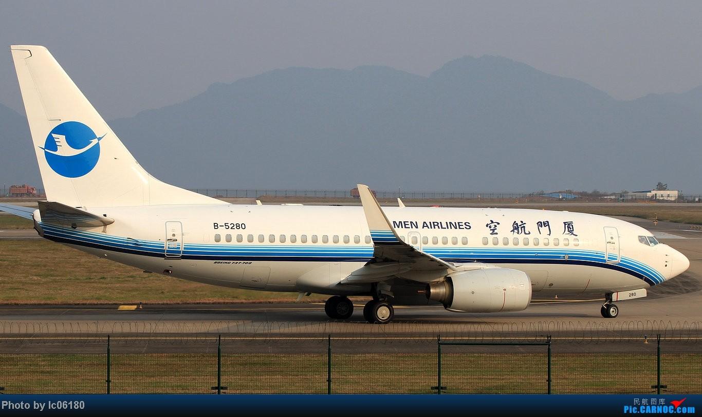 Re:[原创]『lc06180』CKG - 进跑道02L等待 BOEING 737 B-5280 中国重庆江北机场
