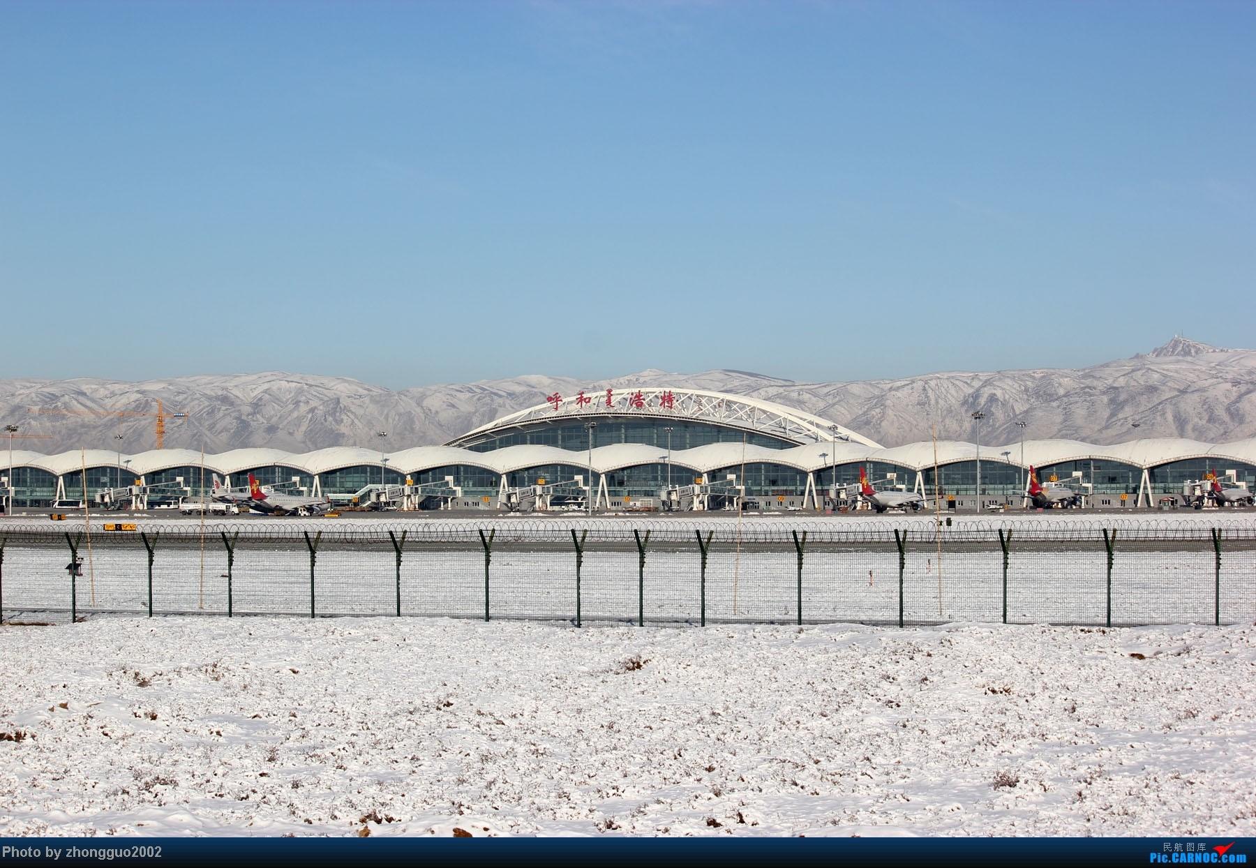[原创]雪后机场拍飞机第四集,大综合。。。。。    中国呼和浩特白塔国际机场