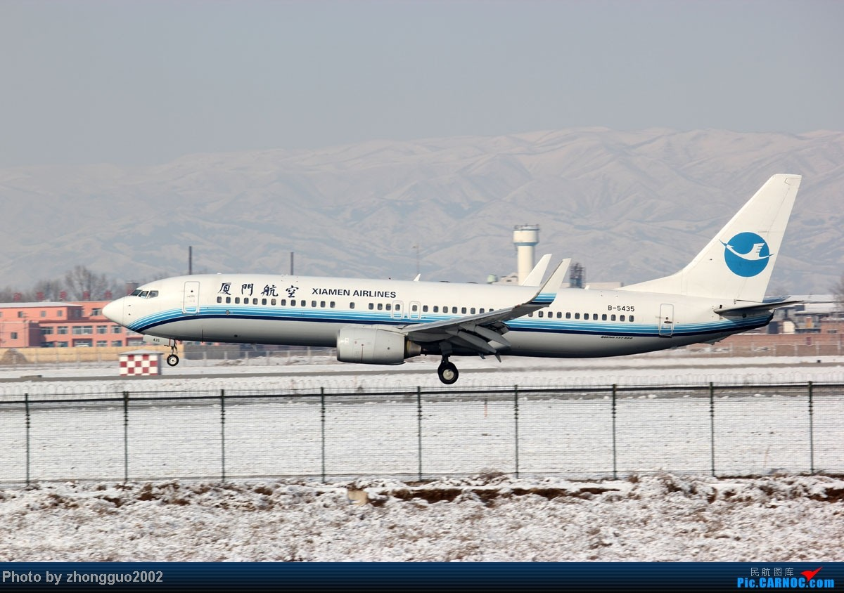 Re:[原创]雪后拍机第二集,感谢各位亲戚朋友的支持! BOEING 737-800 B-5435 中国呼和浩特白塔国际机场