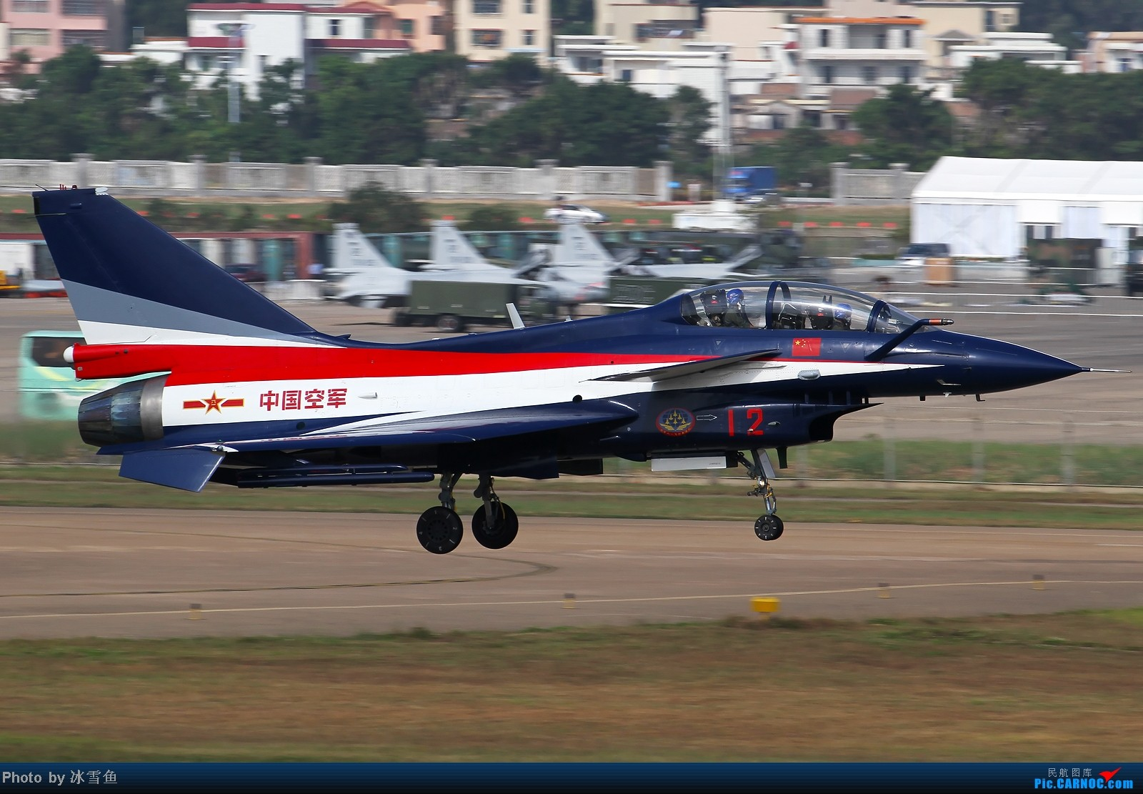 Re:[原创]【BLDDQ】珠海航展,八一表演队一组 歼-10SY 12 中国珠海三灶机场