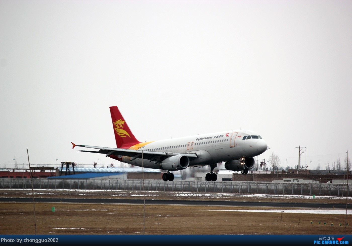 Re:[原创]第一次在包头二里半机场拍飞机,有幸拍到了MA60,小惊喜! AIRBUS A320-200 B-6726 中国包头二里半机场