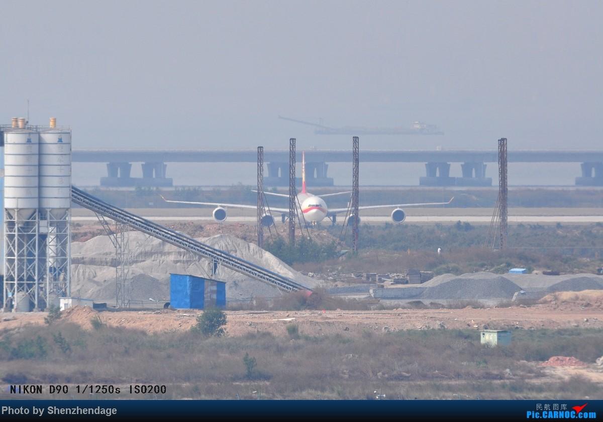 Re:[原创]长长的海航A340-600在深圳宝安机场二跑道落地,穿越一跑道回到停机坪 AIRBUS A340-600 B-6510 中国深圳宝安机场