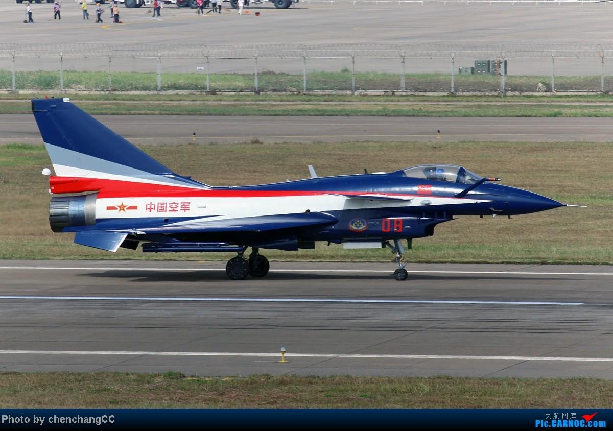 Re:[原创]【chenchangCC】也该八一出场了,歼十3机表演 J-10 08 中国珠海三灶机场