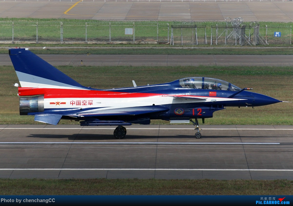 Re:[原创]【chenchangCC】也该八一出场了,歼十3机表演 J-10 12 中国珠海三灶机场