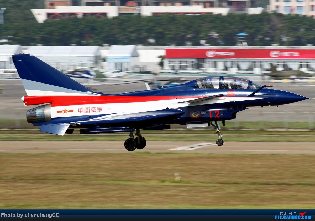 Re:【chenchangCC】也该八一出场了,歼十3机表演 J-10 12 中国珠海三灶机场