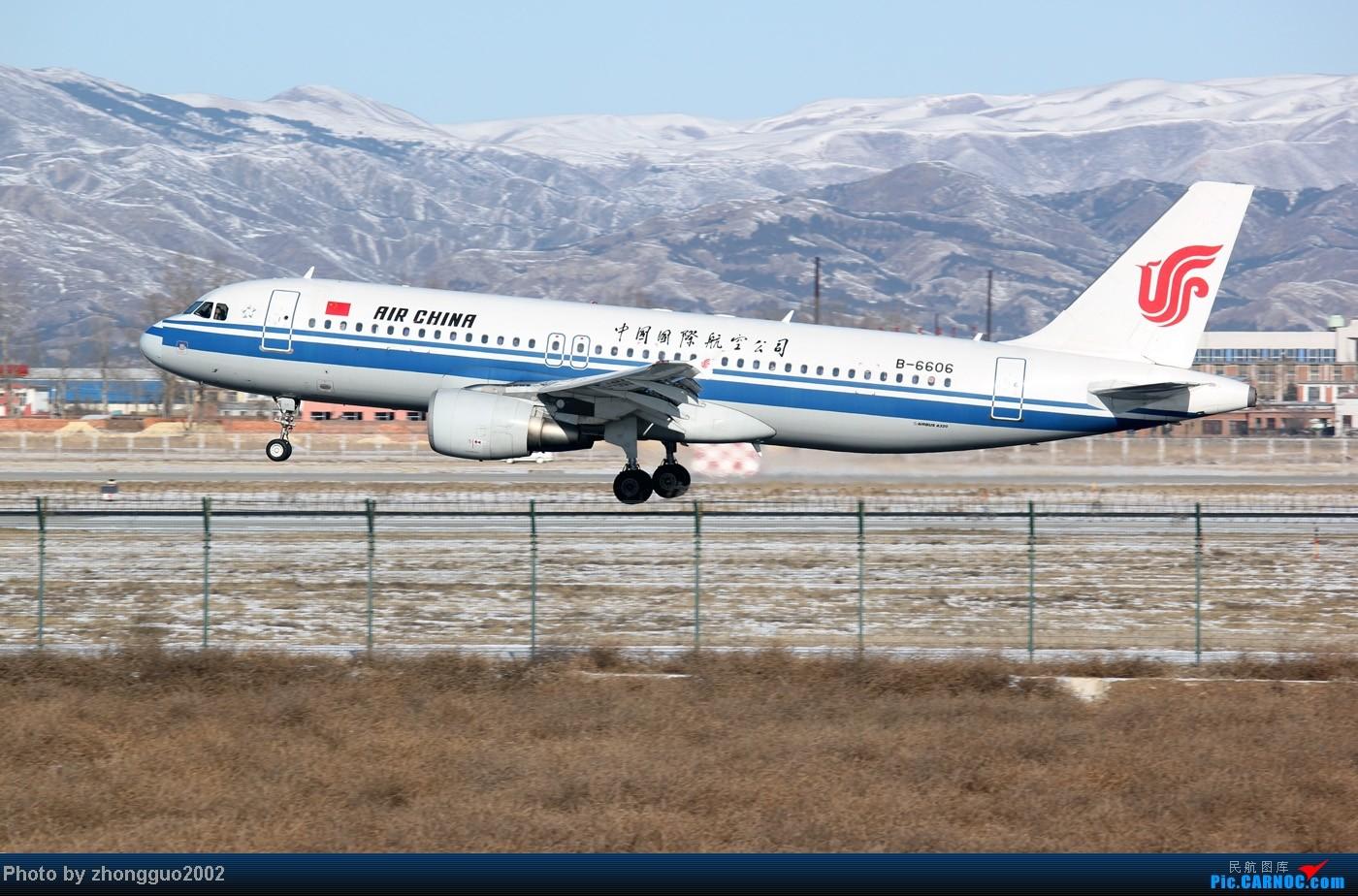 Re:[原创]灰鼻子的春哥第一次拍到,还有其他灰机。 AIRBUS A320-200 B-6606 中国呼和浩特白塔国际机场