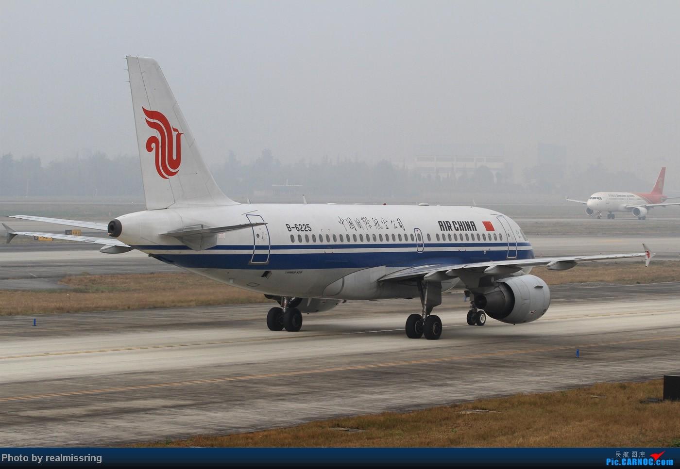 Re:即将告别CTU的纪念--神仙位侧后45度看飞机 AIRBUS A319-100 B-6225 成都双流国际机场