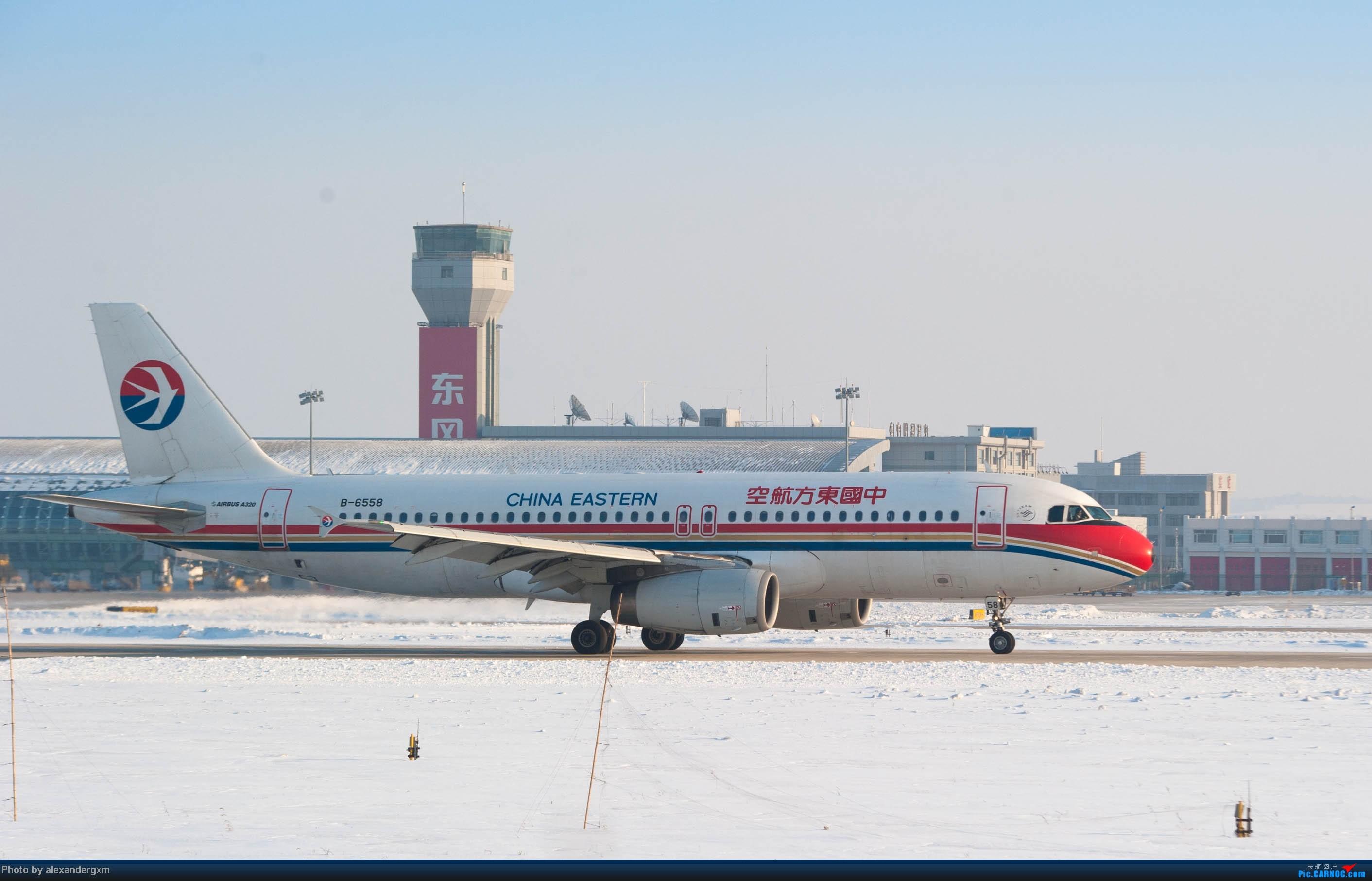 [原创]【CGQ】今天零下30多度好像…… AIRBUS A320-200 B-6558 中国长春龙嘉国际机场
