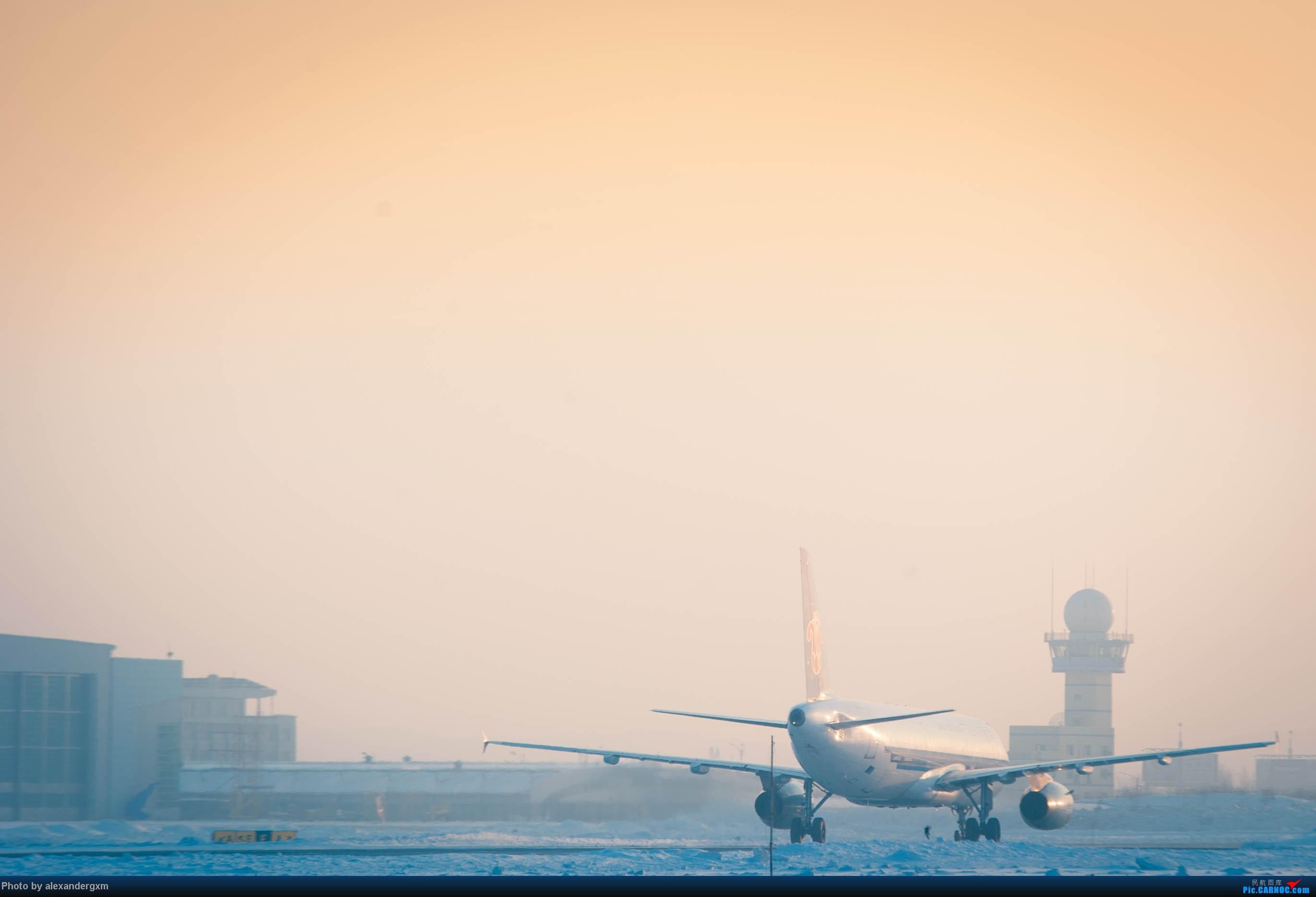 Re:[原创]【CGQ】今天零下30多度好像……    中国长春龙嘉国际机场