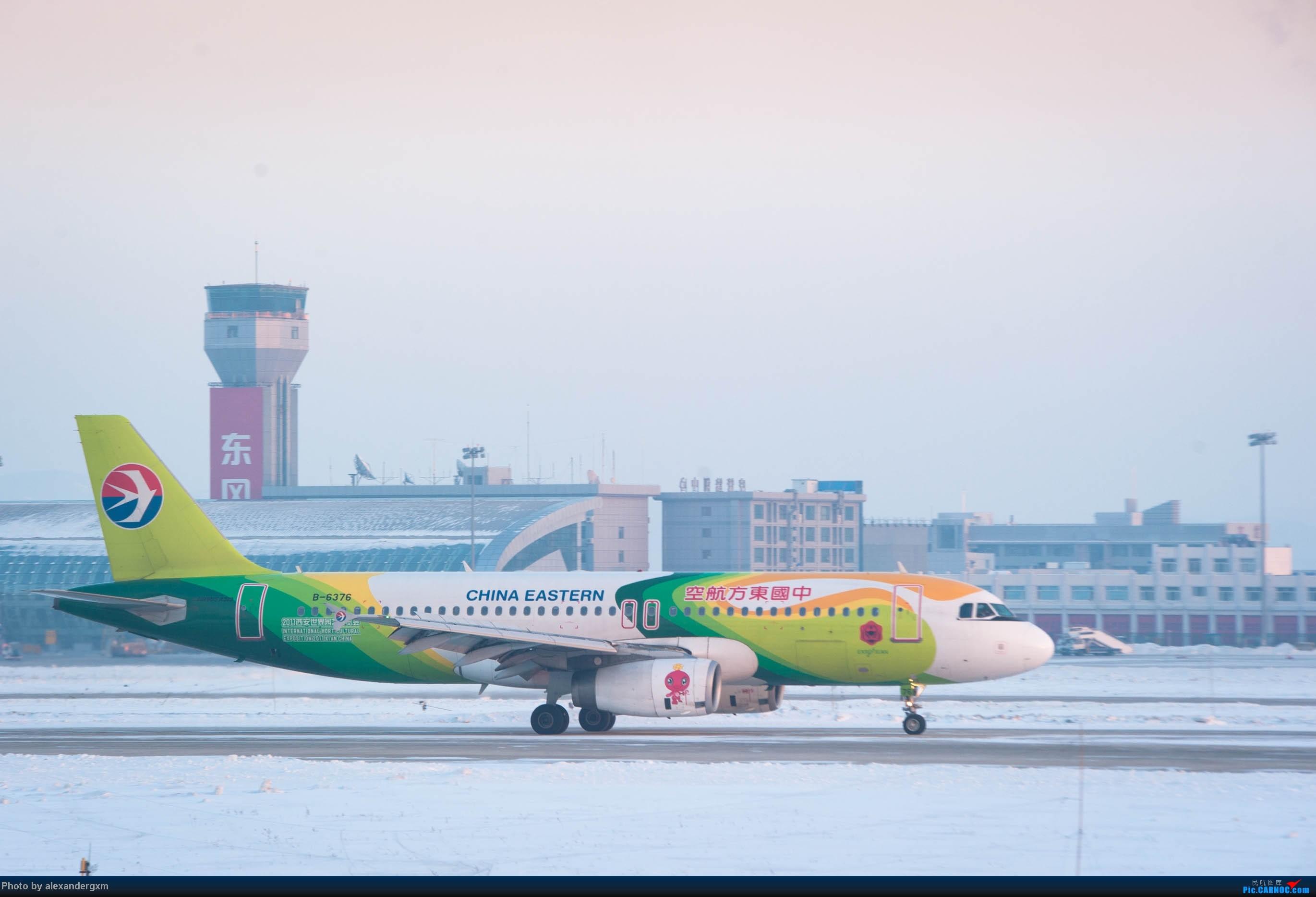 Re:[原创]【CGQ】今天零下30多度好像…… AIRBUS A320-200 B-6376 中国长春龙嘉国际机场