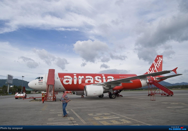 Re:圣诞穷游兰卡威!关键词:亚航特辑、马来西亚空军、伞降表演 AIRBUS A320-200 9M-AFN LGK