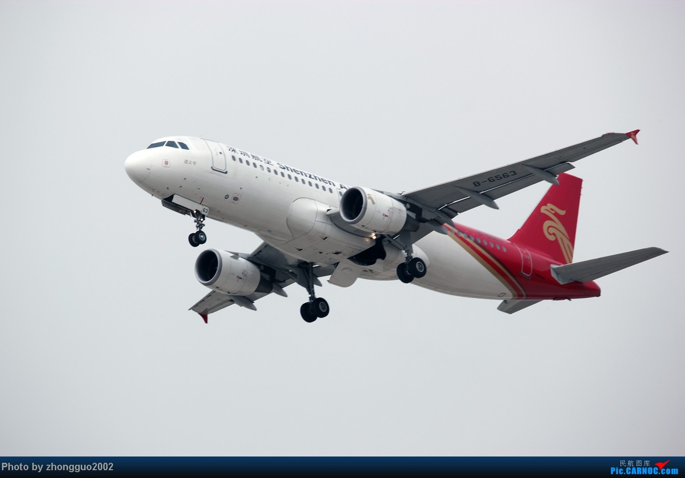Re:[原创]随着2012年的最后一场雪的到了,我的2012年拍机工作也圆满的结束了,把这段时间里灰机整理一下,把没发的,我个人认为好的发上来! AIRBUS A320-200 B-6563 中国呼和浩特白塔国际机场