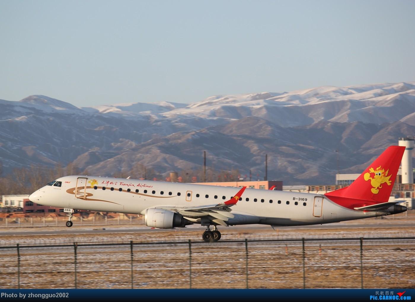Re:[原创]随着2012年的最后一场雪的到了,我的2012年拍机工作也圆满的结束了,把这段时间里灰机整理一下,把没发的,我个人认为好的发上来! ERJ-190 B-3169 中国呼和浩特白塔国际机场