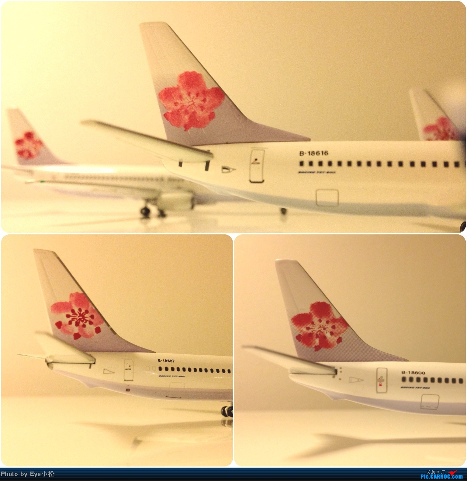 Re:[原创]穿越五十年——我的華航系列收藏 機隊模型及史料 12月陸續新增17架新機