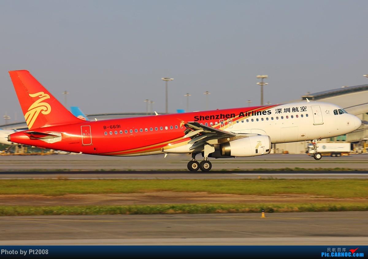 Re:[原创]【CAN】清晨的白云,2012年最后一拍。给力的天气,给力的光线迎接新一年的到来! AIRBUS A320-200 B-6691 中国广州白云机场