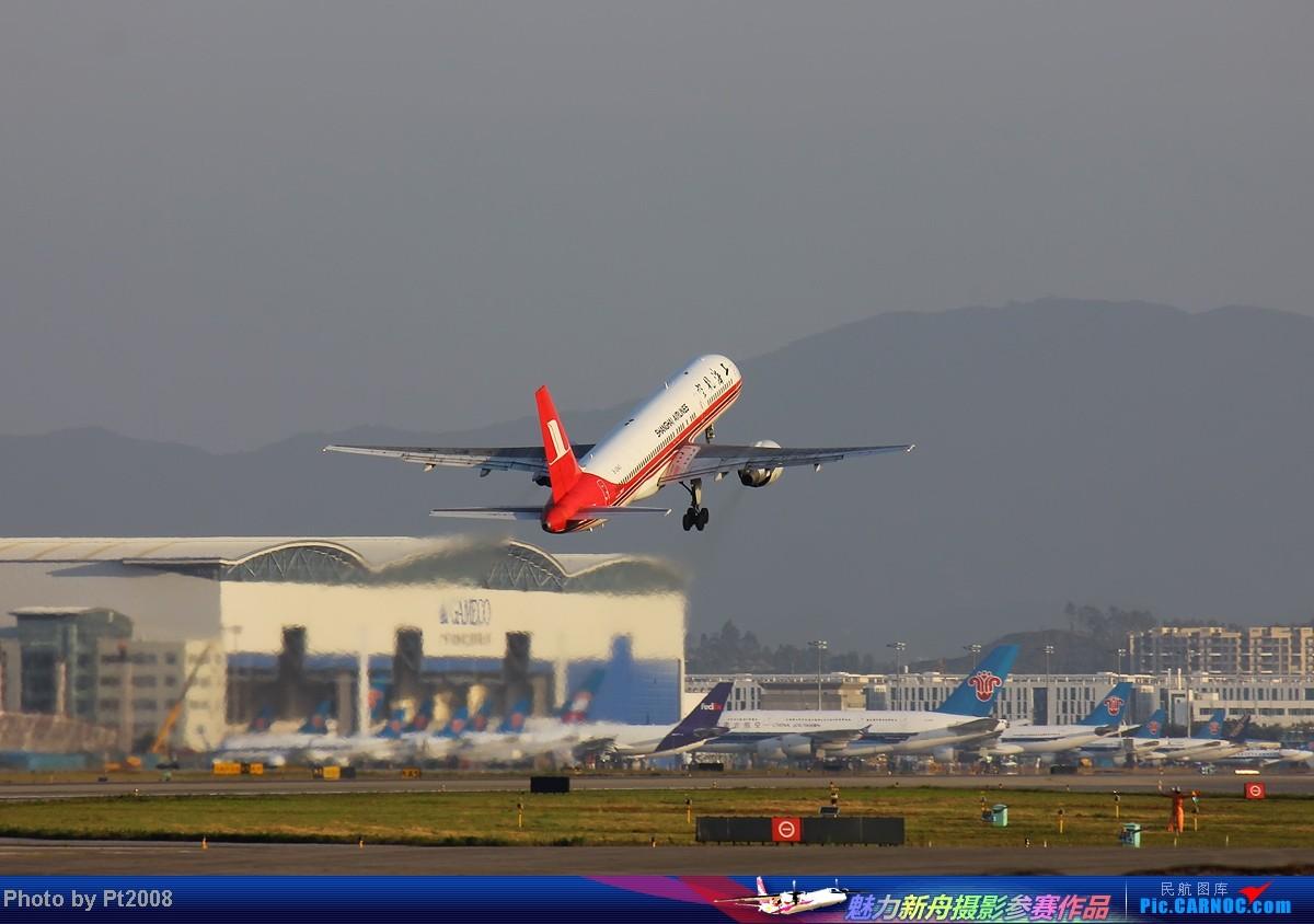 Re:[原创]【CAN】清晨的白云,2012年最后一拍。给力的天气,给力的光线迎接新一年的到来! BOEING 757-200 B-2843 中国广州白云机场