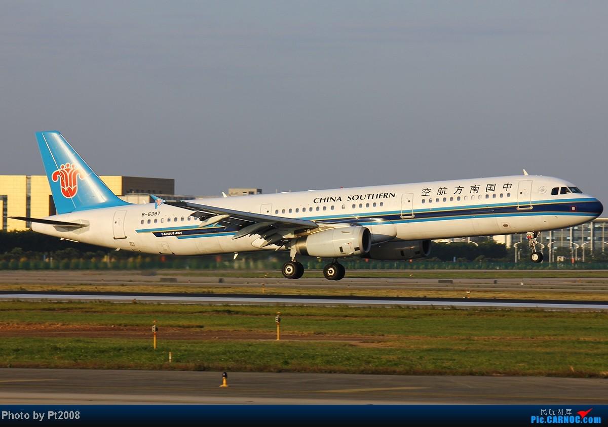 Re:[原创]【CAN】清晨的白云,2012年最后一拍。给力的天气,给力的光线迎接新一年的到来! AIRBUS A321-200 B-6397 中国广州白云机场