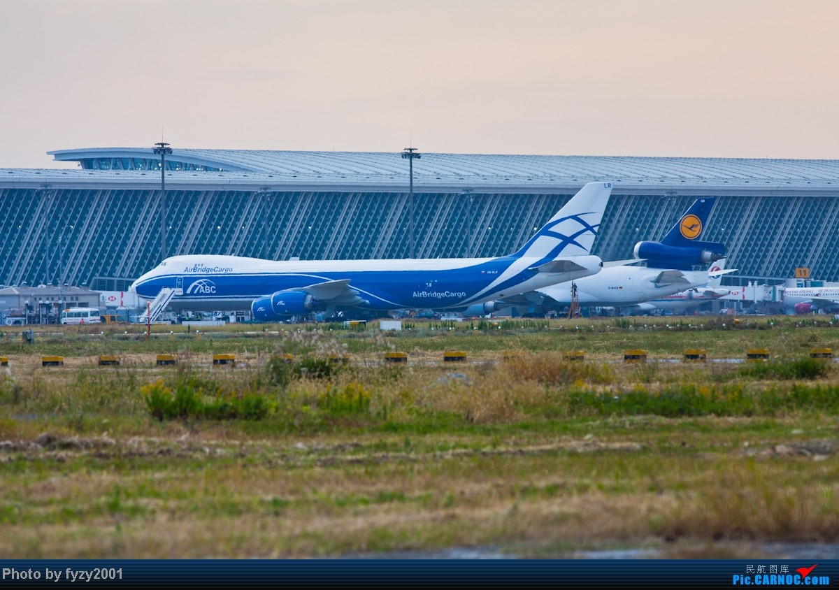 Re:[原创][无锡西站]3个月没发帖了,大量冒泡 BOEING 748 VQ-BLR 中国上海浦东机场