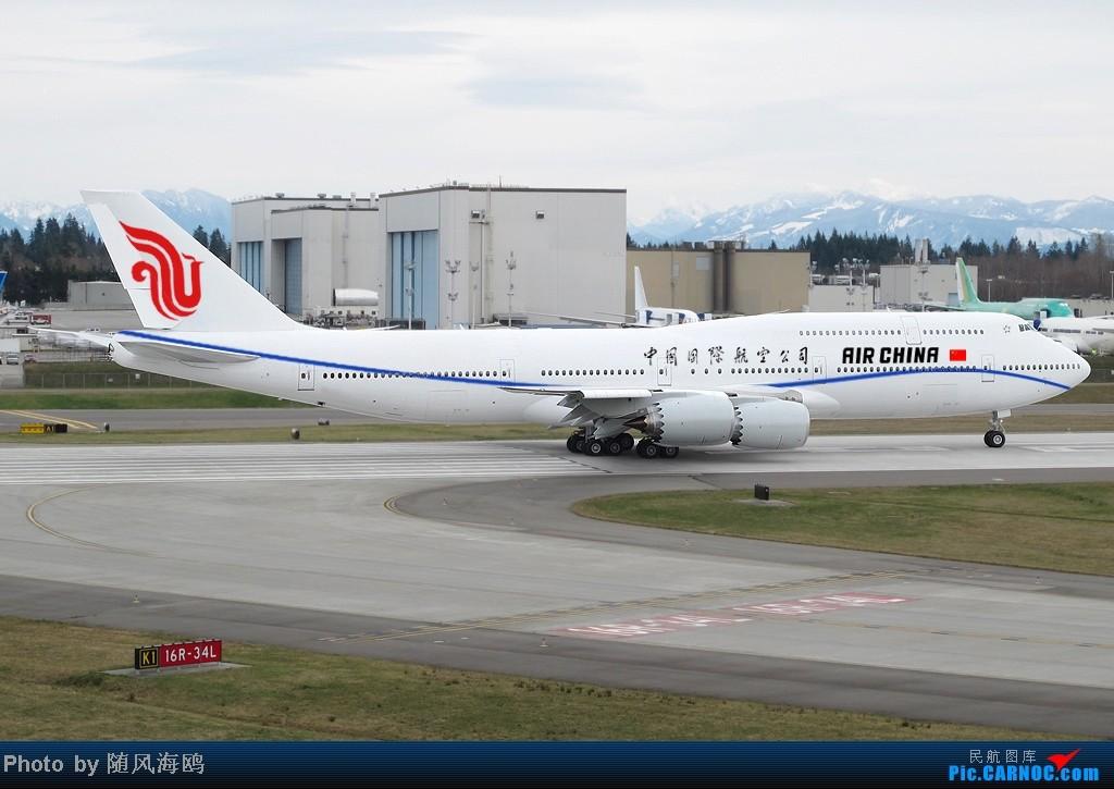 Re:[原创]【原创】国航新涂装 BOEING 747-8