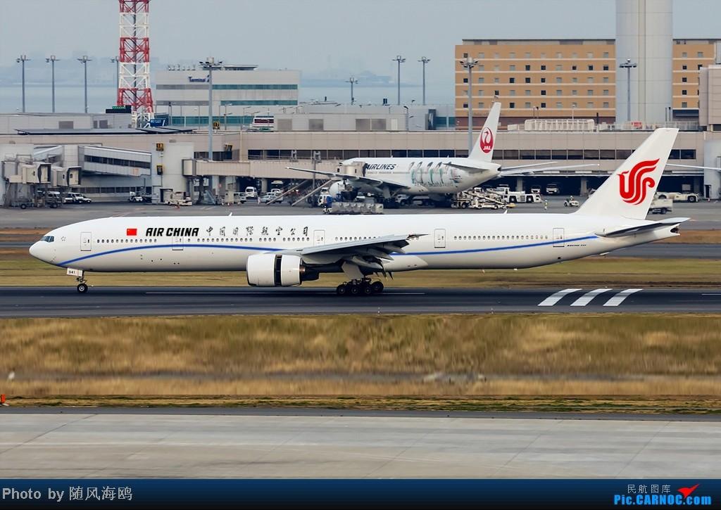 Re:[原创]【原创】国航新涂装 BOEING 777-300ER