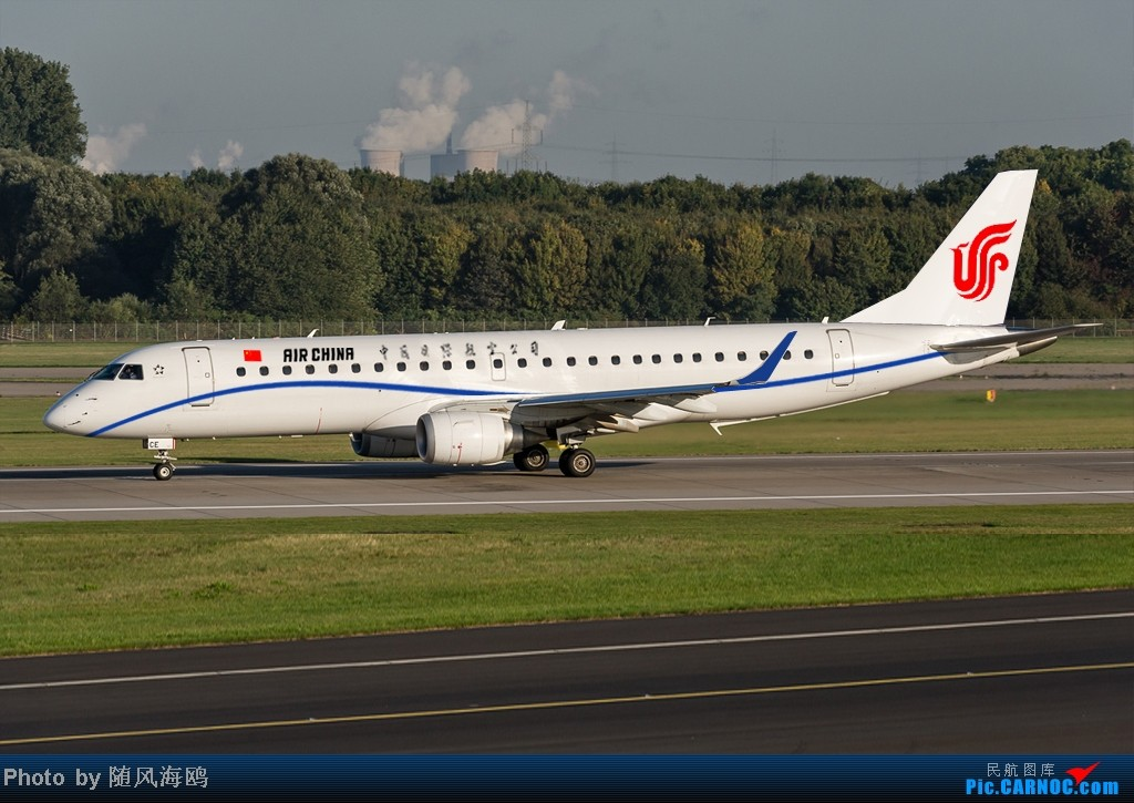 Re:[原创]【原创】国航新涂装 EMBRAER E-190
