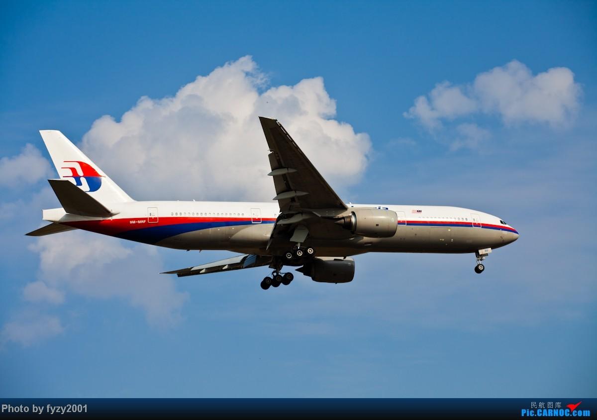 Re:[原创][无锡西站]3个月没发帖了,大量冒泡 BOEING 777-200 9M-MRF 中国上海浦东机场