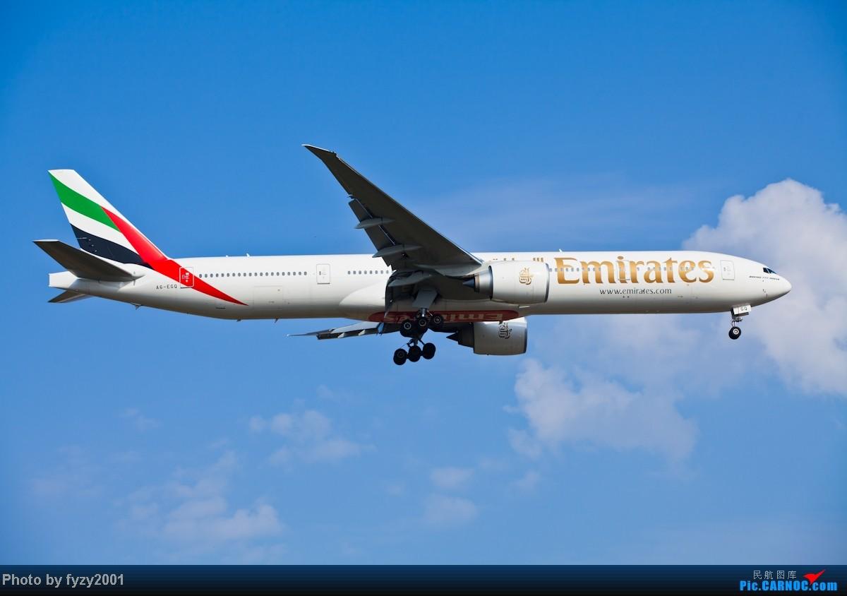 Re:[原创][无锡西站]3个月没发帖了,大量冒泡 BOEING 777-300ER A6-EGQ 中国上海浦东机场