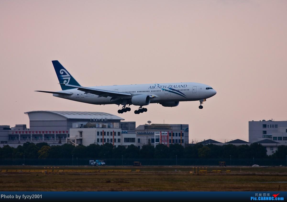Re:[原创][无锡西站]3个月没发帖了,大量冒泡 BOEING 777-200ER ZK-OKD 中国上海浦东机场