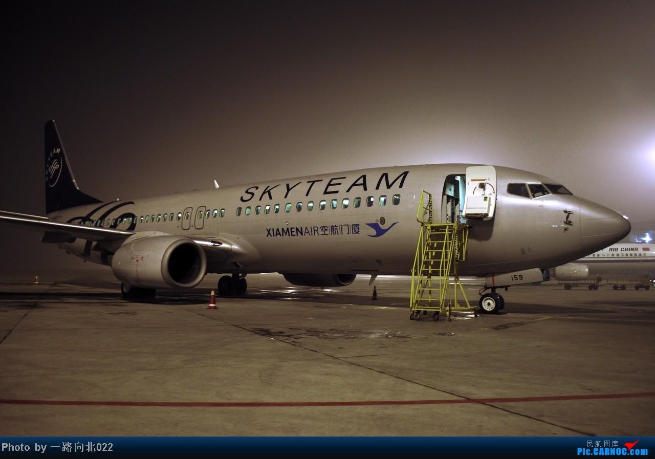 Re:[原创]**TSN**TSN** 一边泰东方 一边是厦航 BOEING 737-800 B-5159 中国天津滨海机场