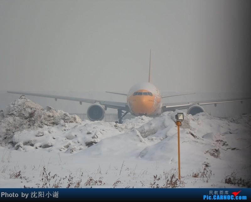 Re:[原创]2013年1月13日,沈阳桃仙机场,大雾,酷航777,南航330,韩航747. BOEING 777-200 9V-OTC 中国沈阳桃仙机场
