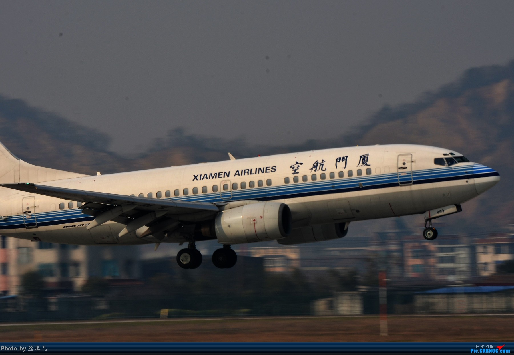 Re:[原创]【HGH二跑】话说如今的二跑有了制高点--趁今天雾霾好转一点赶紧去练练甩腰--今日中午二跑拍机一小时全记录 BOEING 737-700 B-2999 中国杭州萧山机场