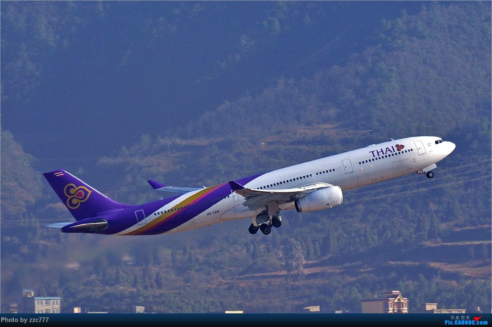 Re:[原创]【昆明的天空】鸟枪换炮的图 AIRBUS A330-300 HS-TEN 中国昆明长水机场