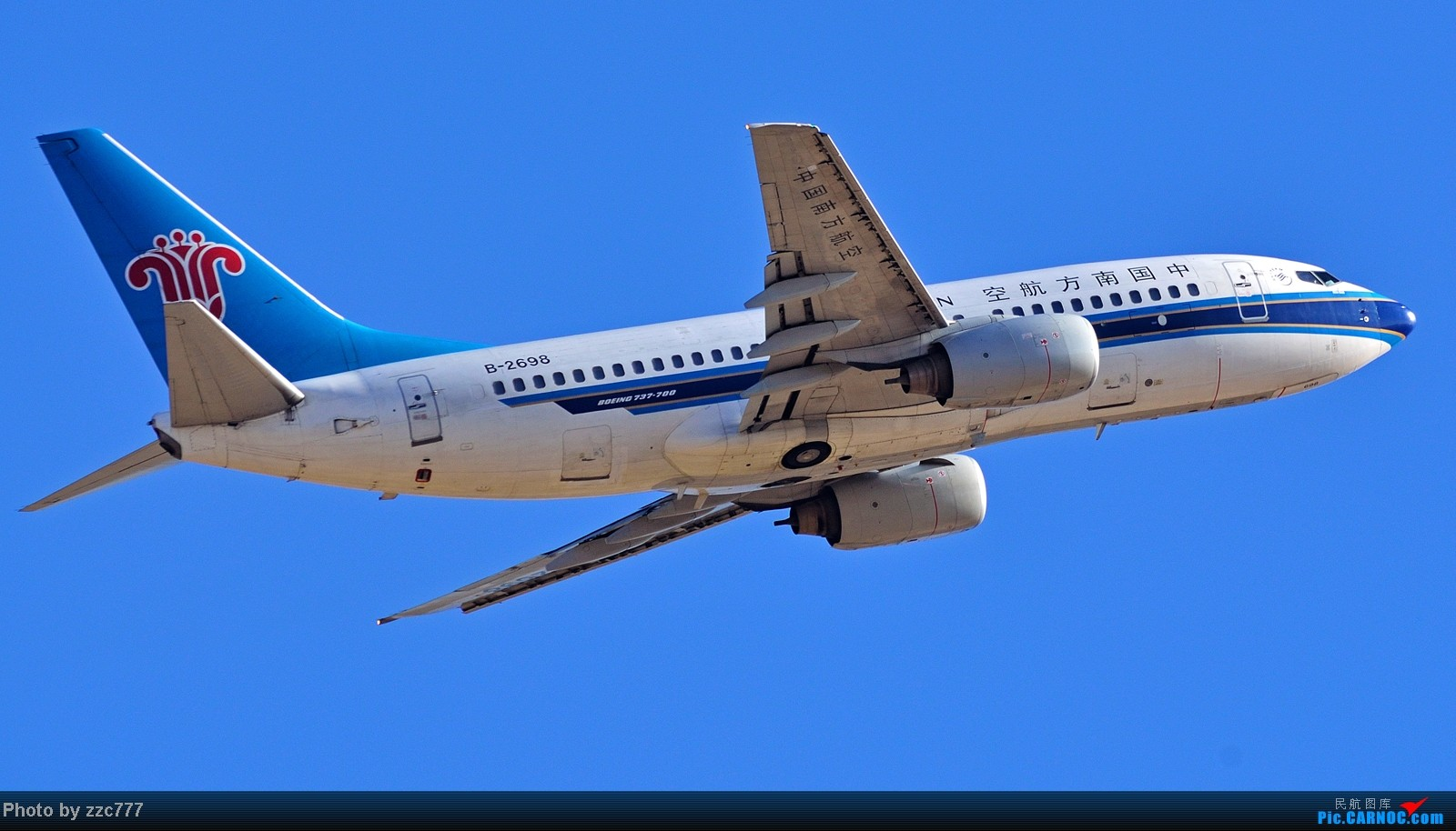 Re:[原创]【昆明的天空】鸟枪换炮的图 BOEING 737-700 B-2698 中国昆明长水机场