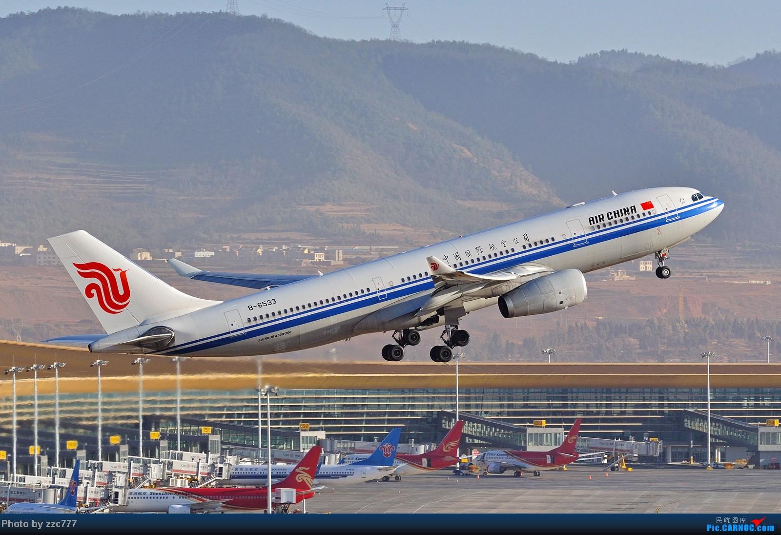 Re:[原创]【昆明的天空】鸟枪换炮的图 AIRBUS A330-200 B-6533 中国昆明长水机场