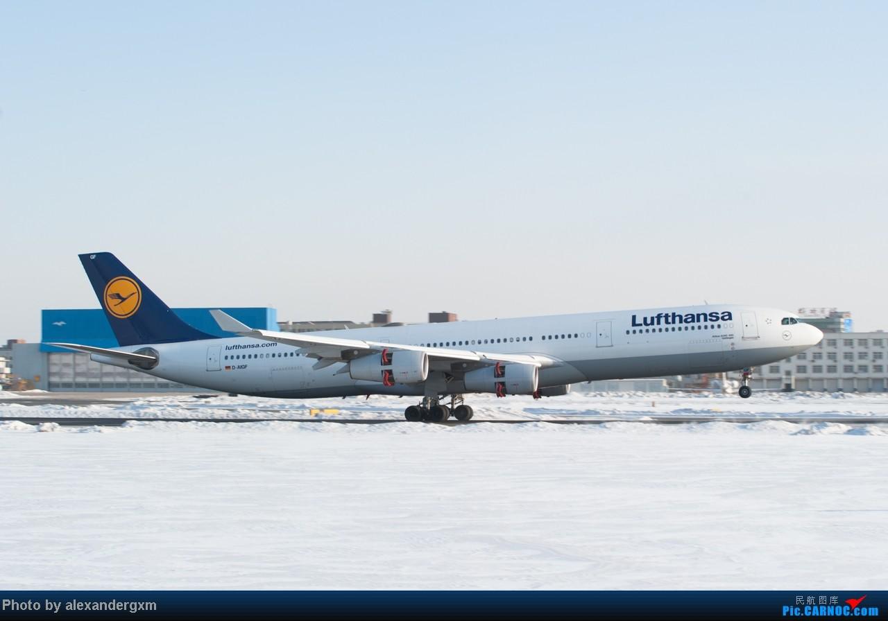 Re:[原创]【SHE】雪后出晴,日常拍机。汉莎A340等 A340-300