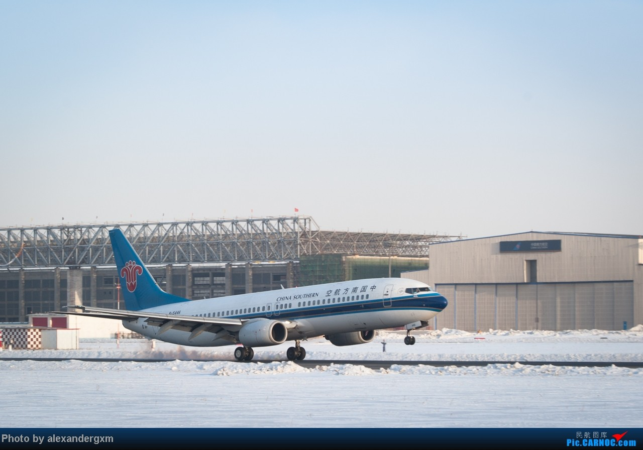 Re:[原创]【SHE】雪后出晴,日常拍机。汉莎A340等 BOEING 737-800 B-5446 中国沈阳桃仙机场