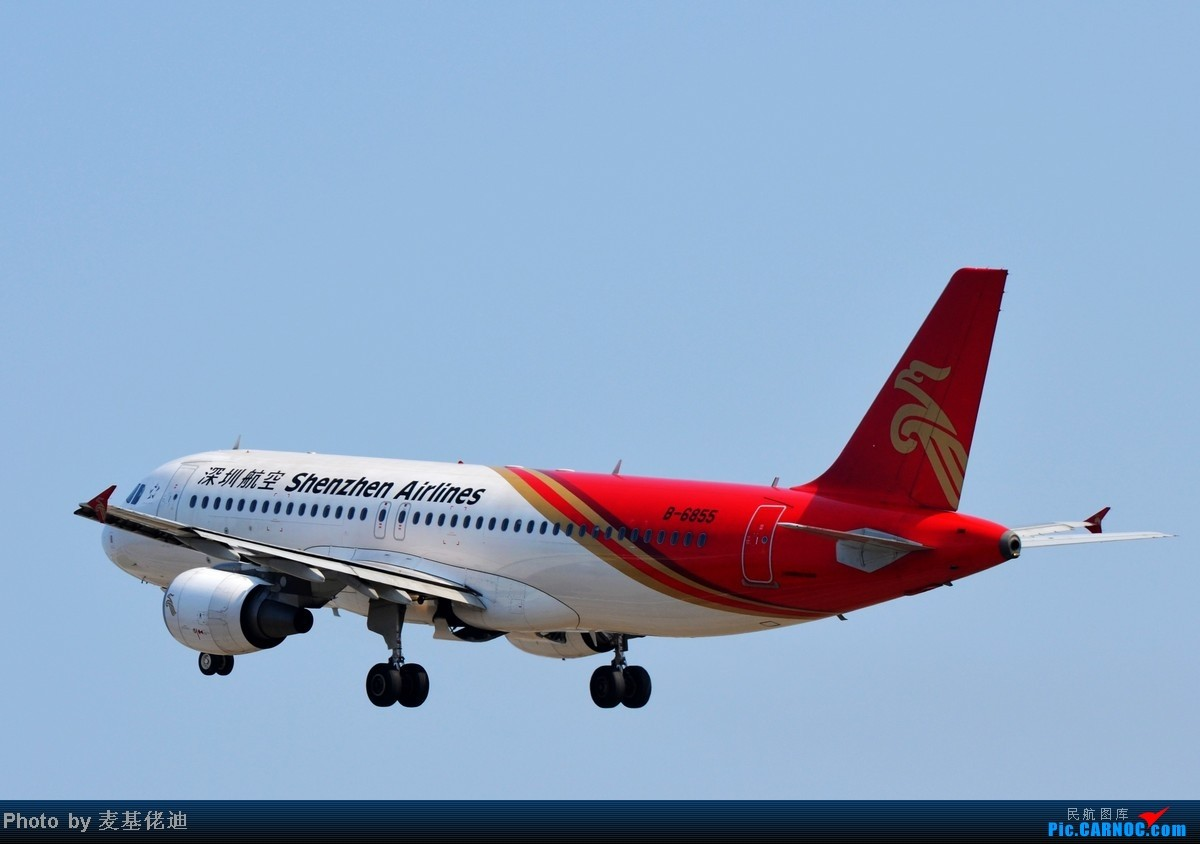 Re:[原创]【 ★ 捕捉起落架收起的柔美瞬间 ★ 】 AIRBUS A320-200 B-6855 广州白云国际机场