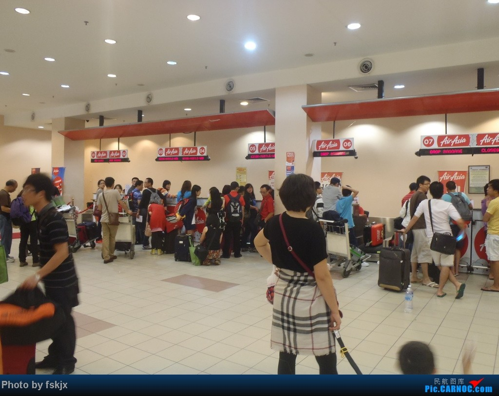 Re:[原创]【fskjx的飞行游记】亚航沙巴浮潜之旅    马来西亚沙巴机场