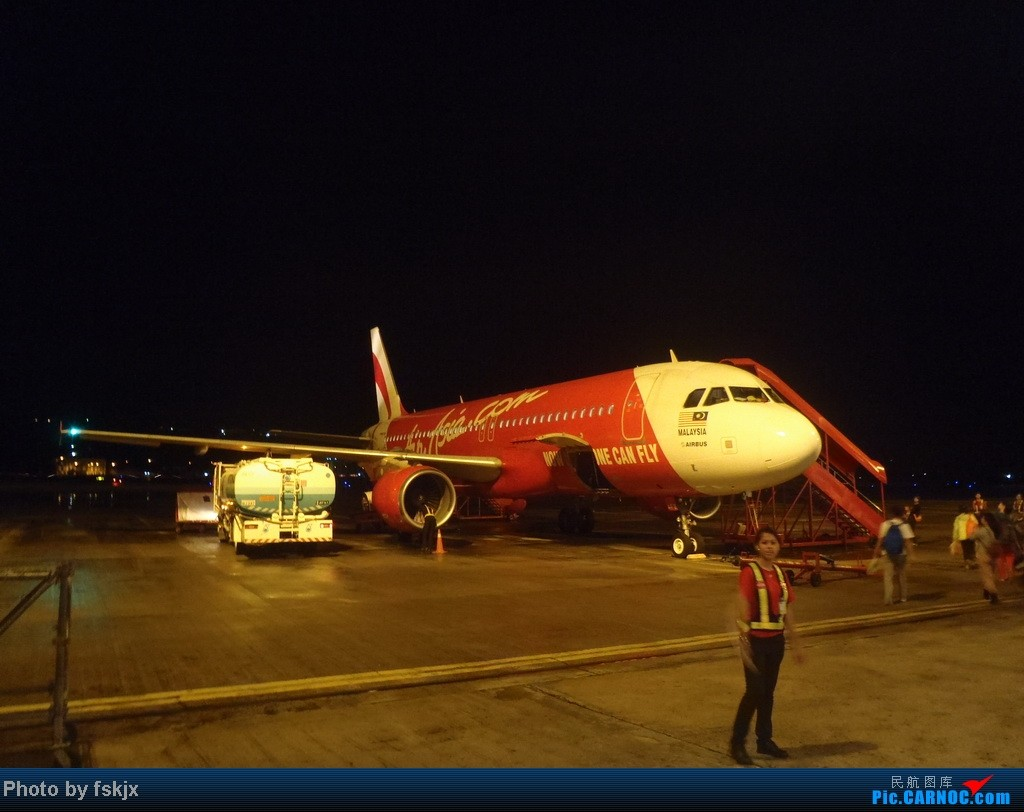 Re:[原创]【fskjx的飞行游记】亚航沙巴浮潜之旅 AIRBUS A320-200  马来西亚沙巴机场