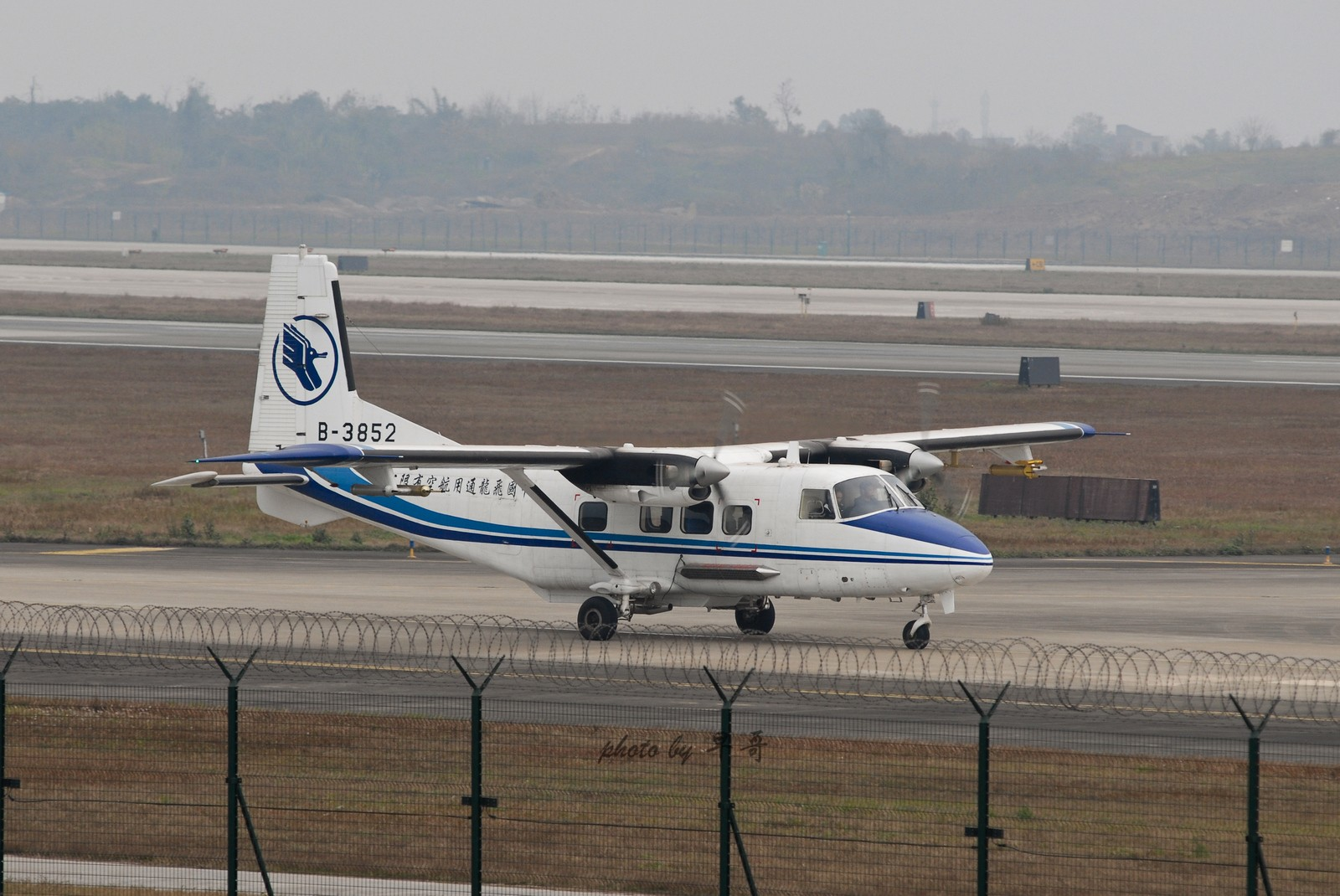 [原创]【CKG打机队】烂天有好货!!! Y12 B-3852 中国重庆江北机场