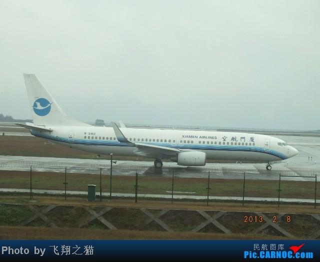 Re:[原创]CKG春运集锦3之繁忙的CKG BOEING 737-800 B-5162 重庆江北国际机场