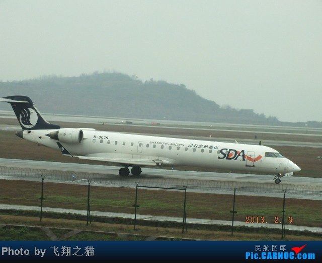 Re:[原创]CKG春运集锦3之繁忙的CKG CRJ-700 B-3079 重庆江北国际机场