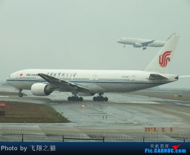Re:[原创]CKG春运集锦3之繁忙的CKG BOEING 777-200 B-2067 重庆江北国际机场