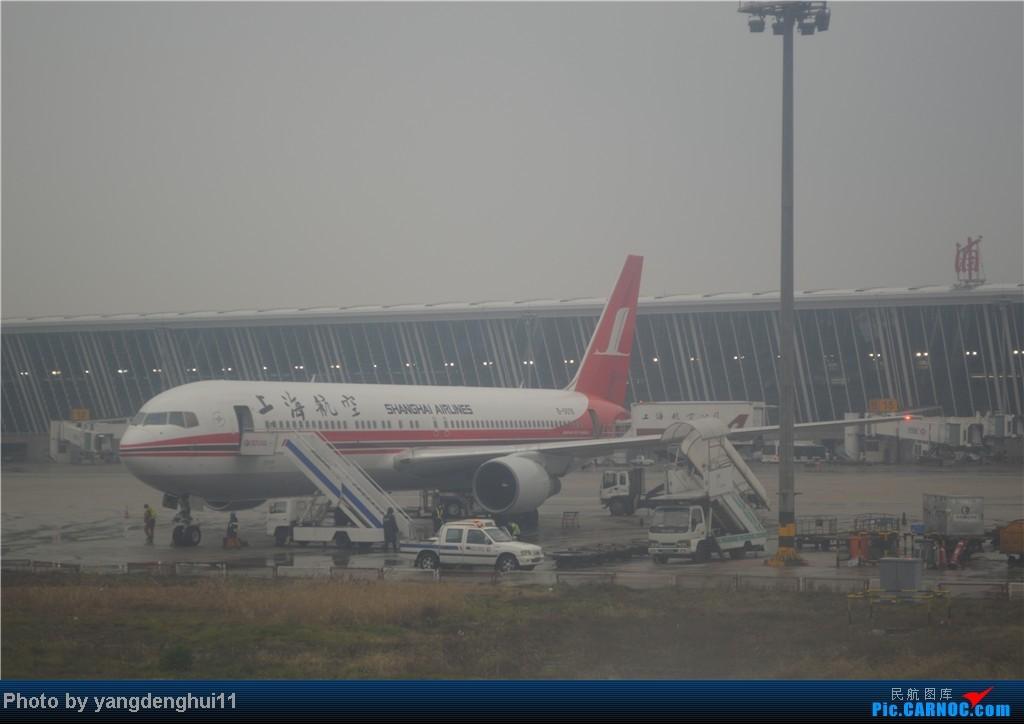 Re:[原创]过年回老家!!!CTU-PVG-上海虹桥站-动车D3103到温州苍南       本人是12岁的小朋友,但天生喜欢飞机,就发了本帖,希望大家谅解拍的不好的地方。 B757  中国上海浦东机场