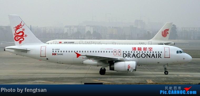 Re:[原创]【成都飞友会】部分记录20130206的CTU联邦快递MD11国泰 74F和国航77W等 AIRBUS A320-200 B-HSK 中国成都双流机场