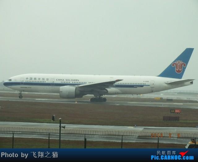 Re:CKG春运集锦3之繁忙的CKG BOEING 777-200 B-2053 重庆江北国际机场