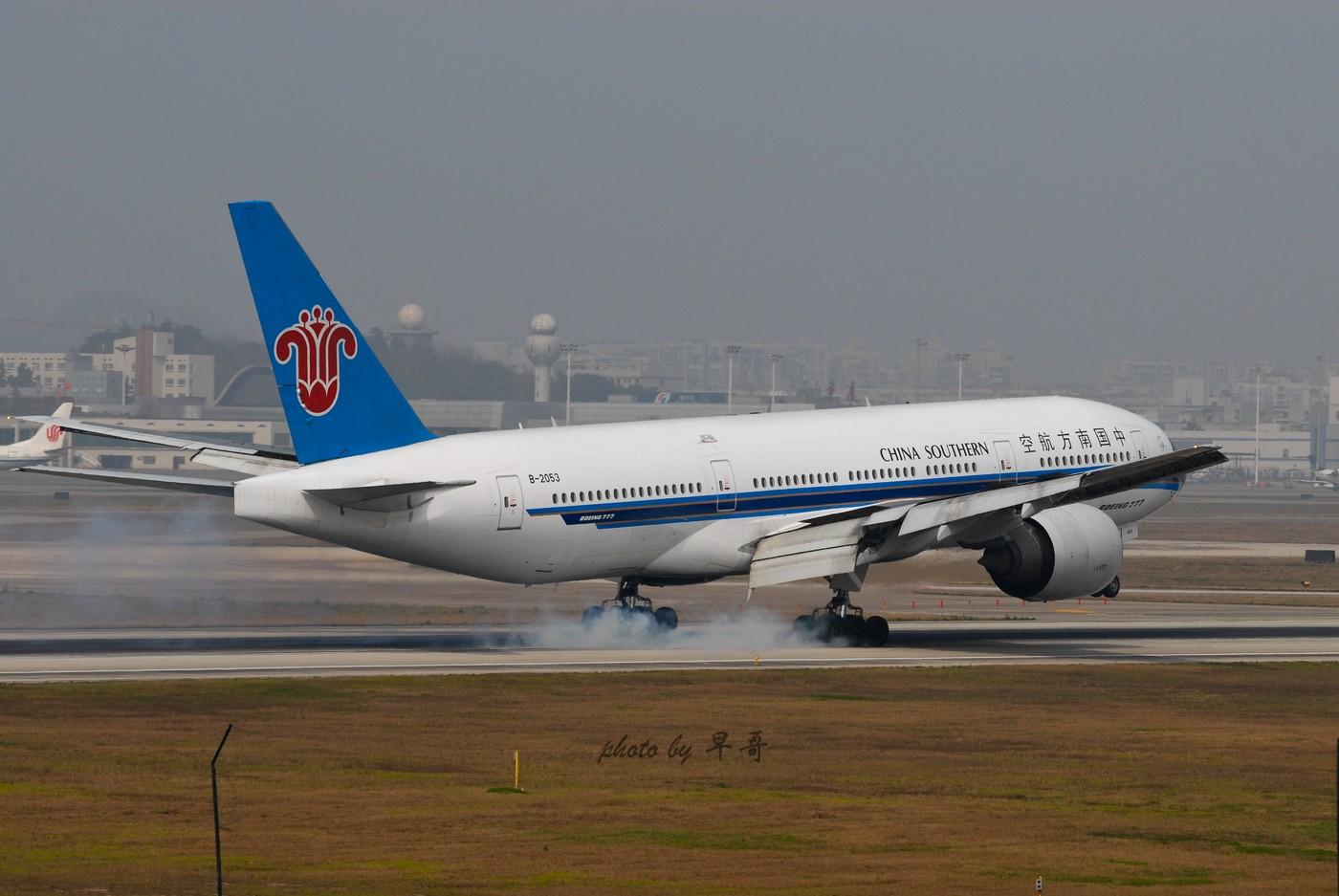 Re:【CKG打机队】升级777,来发组777落地~~ BOEING 777-200 B-2053 中国重庆江北机场