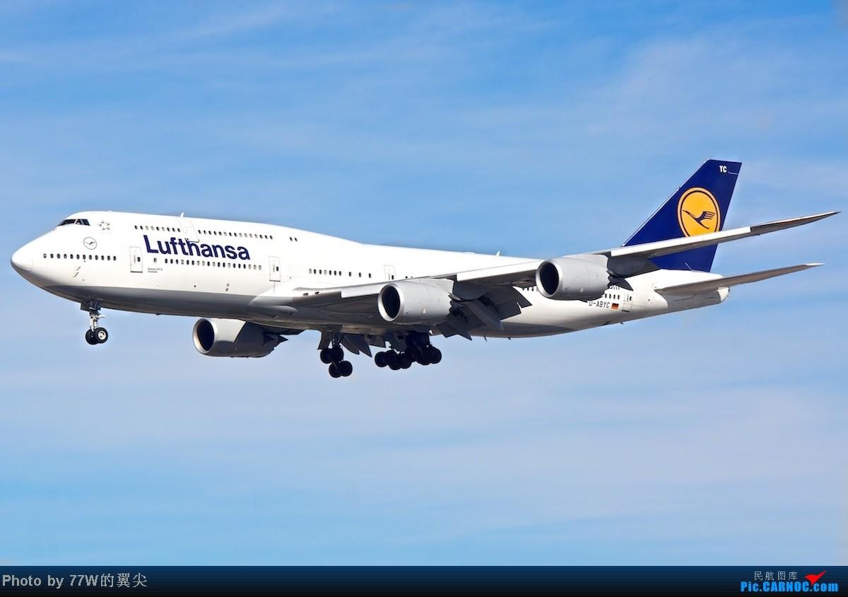 Re:[LAX]简简单单的一些好货 一天拍机 南北跑两头跑 祝大家新春快乐 BOEING 747-830 D-ABYC 美国洛杉矶机场